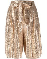 Forte Forte Shorts Golden - Multicolour