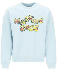 Martine Rose - Graphic Print Sweatshirt - Lyst