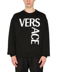Versace Crew Neck Sweatshirt - Black