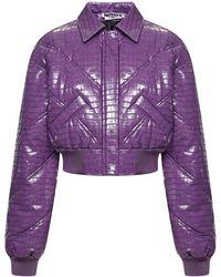 ROTATE BIRGER CHRISTENSEN Rotate Coats Purple