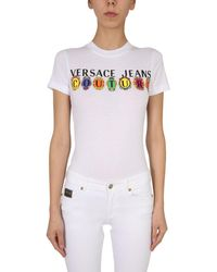 Versace Jeans Couture Versace Jeans Other Materials T-shirt - White