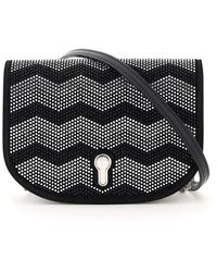 Bally Clayn Embellished Crossbody Bag - Black