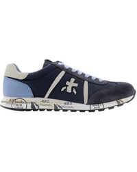 Premiata - Men's Lucy1298e Blue Other Materials Sneakers - Lyst