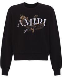 Amiri Eagle Logo Sweatshirt - Black