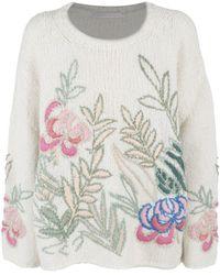 Saverio Palatella Sweaters White