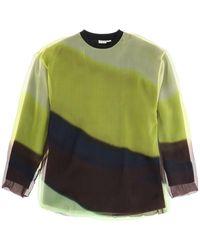 Dries Van Noten Double Layer Sweatshirt - Green