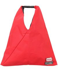 MM6 by Maison Martin Margiela Hobo Japanese Bag - Red