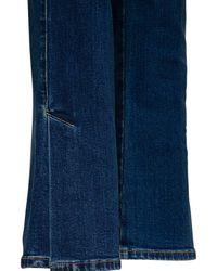 Alexander McQueen Flared Denim Jeans - Blue
