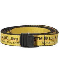 Off-White c/o Virgil Abloh Belts - Multicolor