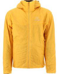 "Arc'teryx ""nuclei"" Light Jacket - Yellow"