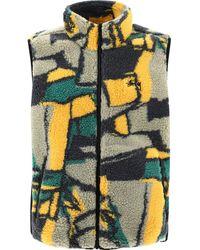 "Stussy ""block Sherpa"" Vest - Multicolour"