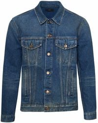 Alanui Blue Monument Denim Jacket
