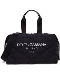 Dolce & Gabbana Logo Duffle Bag - Only One Size / Black