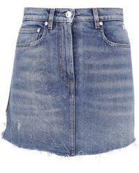 MSGM Denim Shorts - Blue