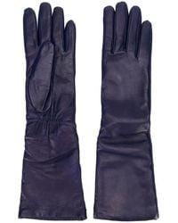 P.A.R.O.S.H. Three-quarter Length Gloves - Blue
