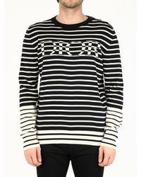 Dior Striped Sweater - Blue
