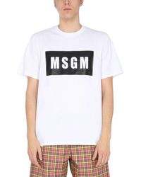 MSGM Crew Neck T-shirt - White