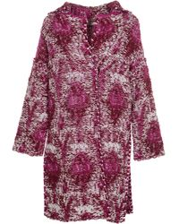 Dondup Coats Red