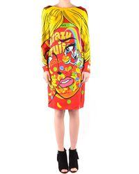 Moschino Printed Dress - Multicolour