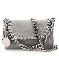 Stella McCartney Falabella Micro Shoulder Bag - Gray