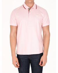 Burberry Monogram Polo Shirt - Pink