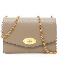 Mulberry Grain Leather Small Darley Bag - Multicolour