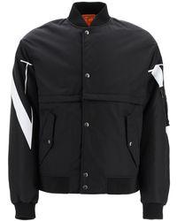 Valentino Vltn Bomber Jacket - Black