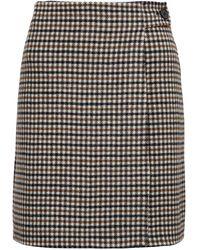 P.A.R.O.S.H. Checkered Skirt - Multicolor