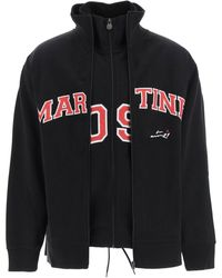 Martine Rose Two In One Track Jacket - Black