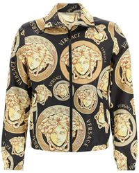 Versace Medusa Amplified Print Jacket - Multicolor