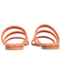 Aeyde Chrissy Sandals - Orange