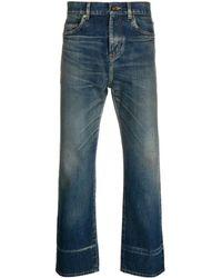 Saint Laurent Straight-leg Jeans - Blue