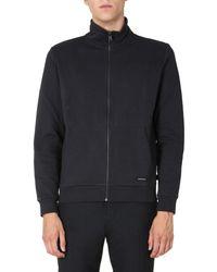 Woolrich Sweatshirt With Zip - Black