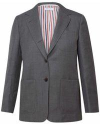 Thom Browne Grey Fit 2 Blazer