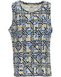Burberry T-shirts & Vests - Blue