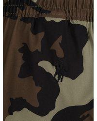 Polo Ralph Lauren Camouflage Nylon Swim Shorts - Green