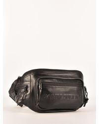 Saint Laurent Black Nuxx Belt Bag