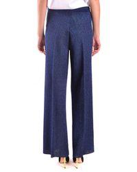 Twin Set Trousers Classics - Blue