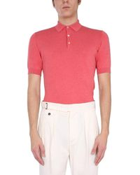 Lardini Other Materials Polo Shirt - Red