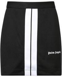 Palm Angels Track Skirt - Black