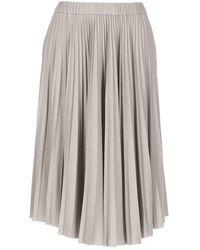 Fabiana Filippi Skirts Grey