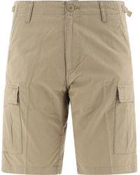 """Carhartt WIP """"aviation"""" Shorts - Natural"""