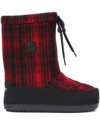 Woolrich Arctic Snow Wool Eskimo Boots - Red