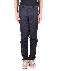 Incotex Trousers - Blue