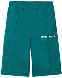 Palm Angels Classic Track Shorts - Green