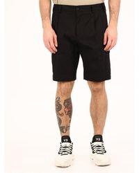 Dolce & Gabbana Jersey Cargo Shorts Black