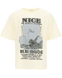 Rhude - Nice Print T-shirt - Lyst
