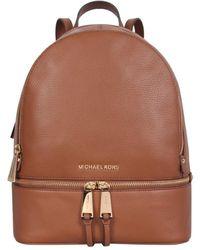 MICHAEL Michael Kors Medium Rhea Zip Backpack - Brown