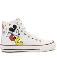 MOA Mickey Mouse Trainers - White