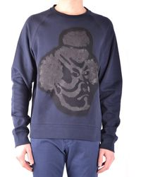 Paolo Pecora Cotton Sweatshirt - Blue